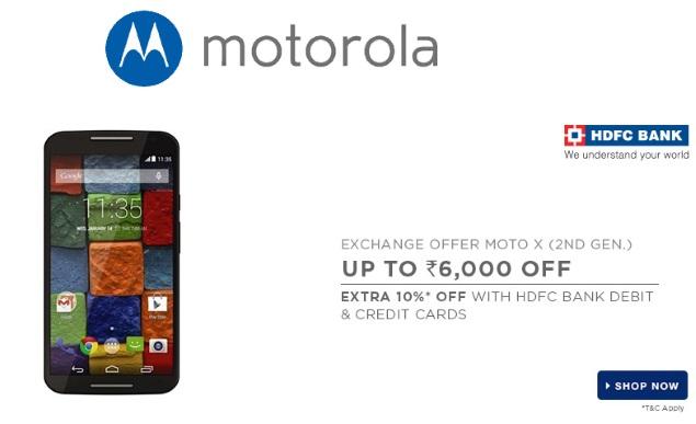Motorola Moto G (Gen 2), Moto X (Gen 2) Available With New Exchange Offers