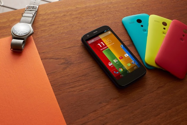 Moto G comes to India with a starting price of Rs. 12,499