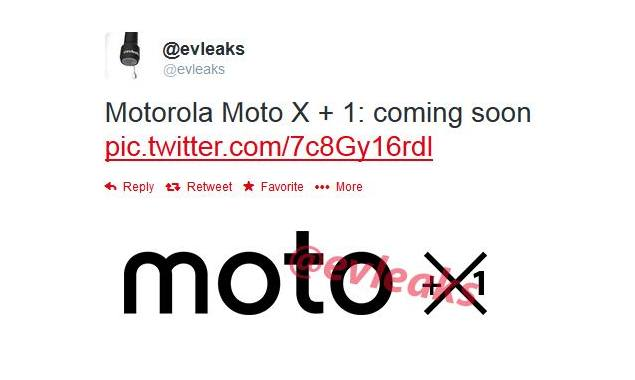 'Moto X + 1' tipped as the Moto X successor that's due this summer