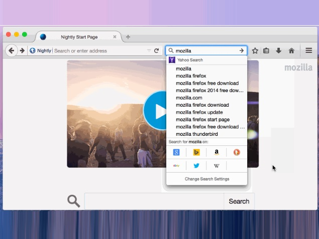 Mozilla Previews New Search Interface for Firefox