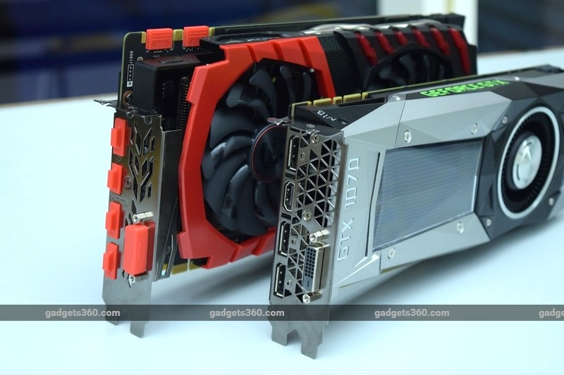 MSI GeForce GTX 1070 Gaming X and Nvidia GeForce GTX 1070 Founders' Edition Review