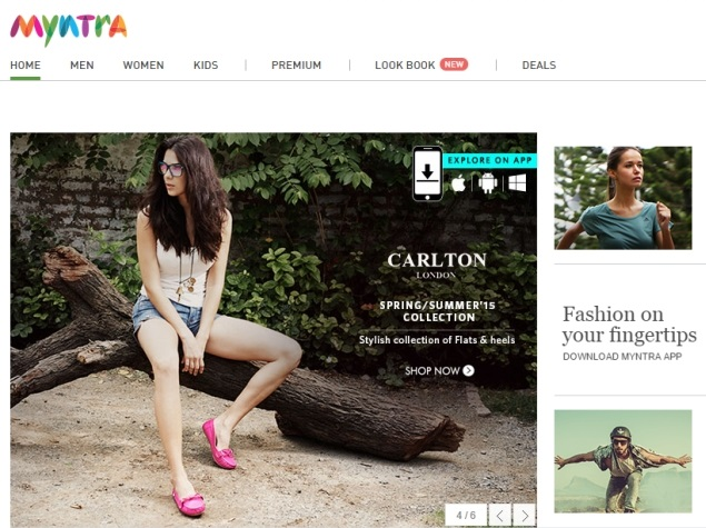 Myntra to Shutter Desktop Website, Go App-Only