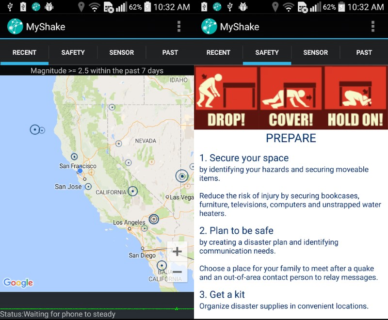 New App Turns Android Smartphones Into Earthquake Detectors