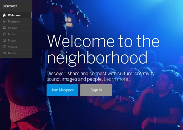 New Myspace combines social networking with streaming music