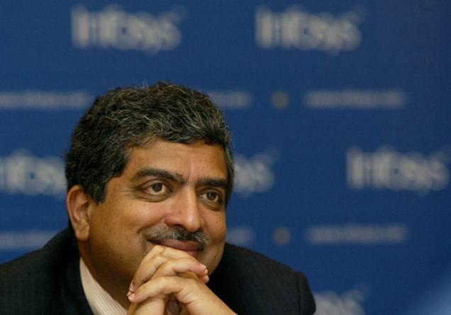 Former Infosys Executives Nilekani and Balakrishnan Swept Away by Modi Wave