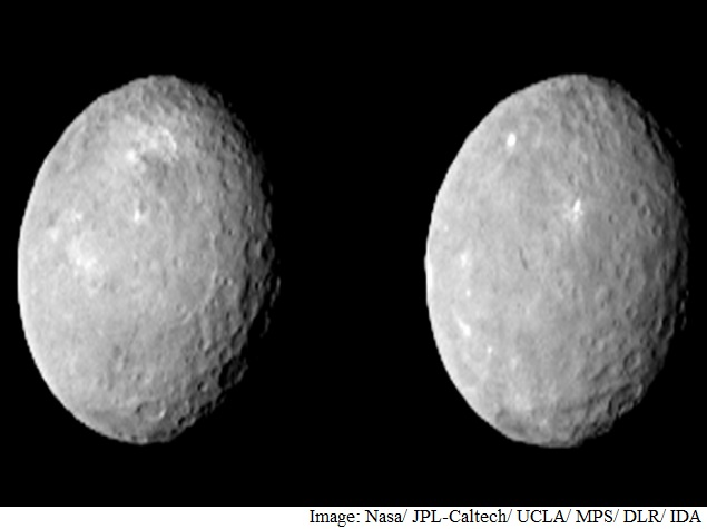 Nasa's Dawn Spacecraft Captures New Images of Dwarf Planet Ceres