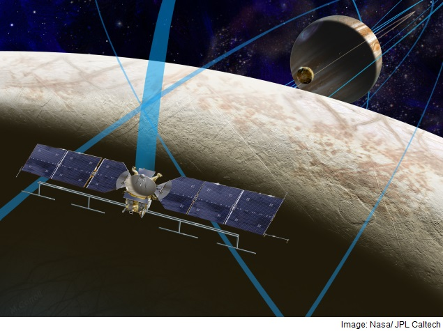 Nasa Selects Celestial Toolbox Bound for Jupiter's Moon Europa