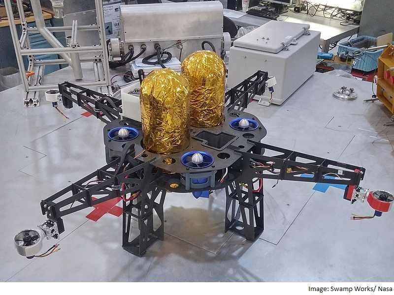 Nasa Drones to Explore Moon and Mars