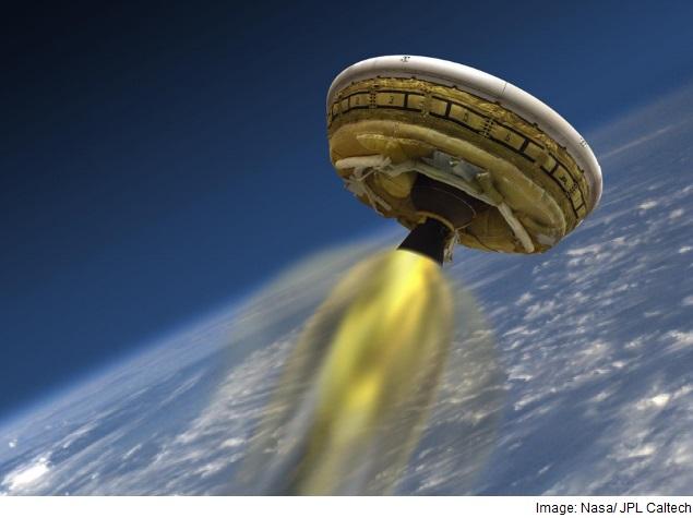 during a space shuttle landing a parachute deploys - photo #43