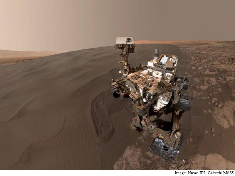 Nasa's Curiosity Rover Sends Super Cool Selfie From Mars
