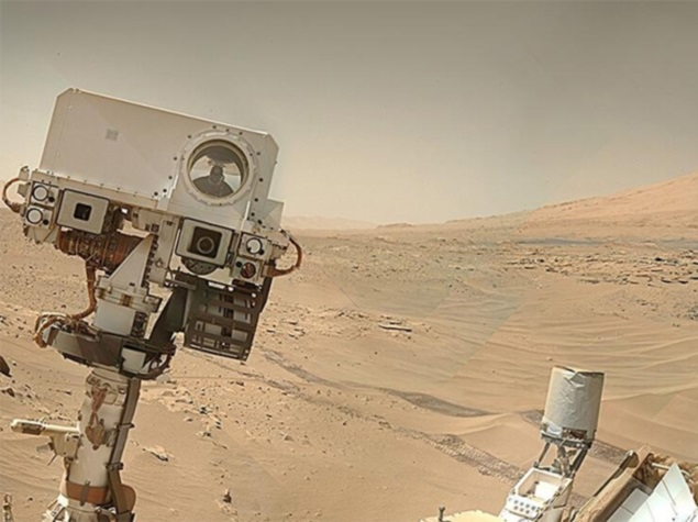 Nasa's Curiosity Rover Clicks a Selfie on Mars