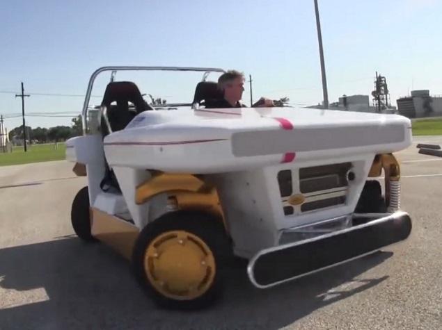 Nasa's Modular Robotic Vehicle Can Drive Sideways, Drift Around Corners
