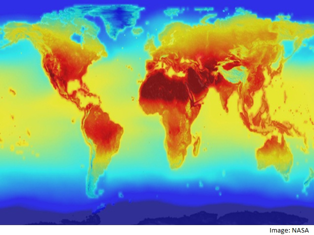 Nasa Releases Detailed Global Climate Data Change Projections