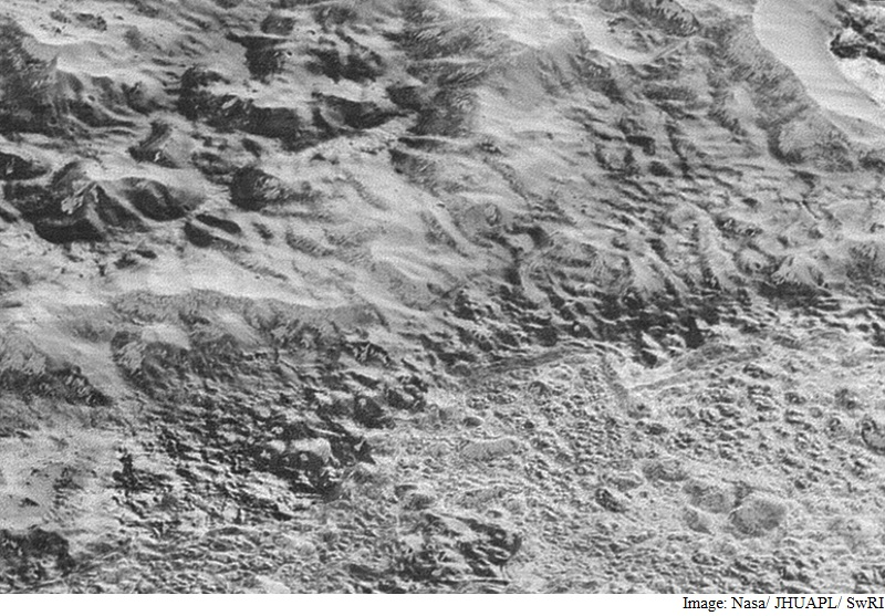Nasa's New Horizons Clicks Most Detailed Photo of Pluto's Surface Yet