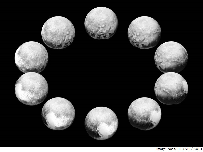 Watch How a Day - 6.4 Earth Years Long - Unfolds on Pluto