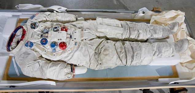 Smithsonian Turns to Kickstarter to Save Armstrong's Spacesuit