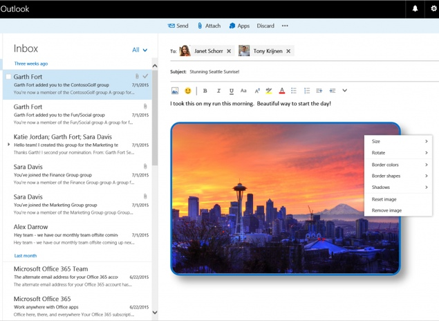 Microsoft Rebrands Outlook Web Access to Outlook on the Web, Introduces New Features