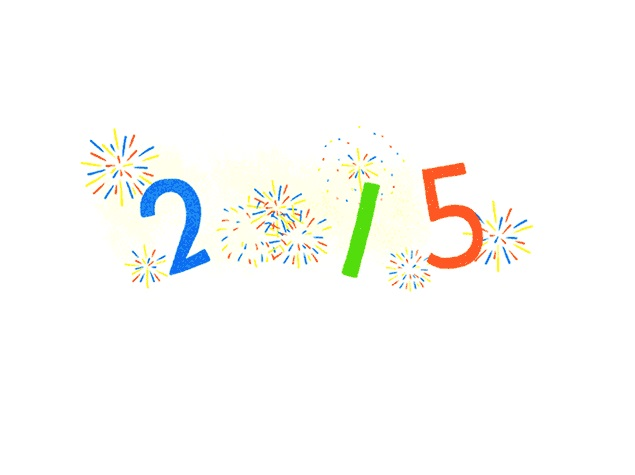 New Year 2015: Google Says Happy New Year With Fireworks