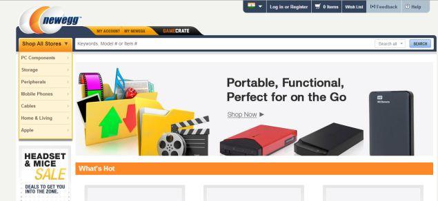 Online Retailer Newegg Enters Indian Market