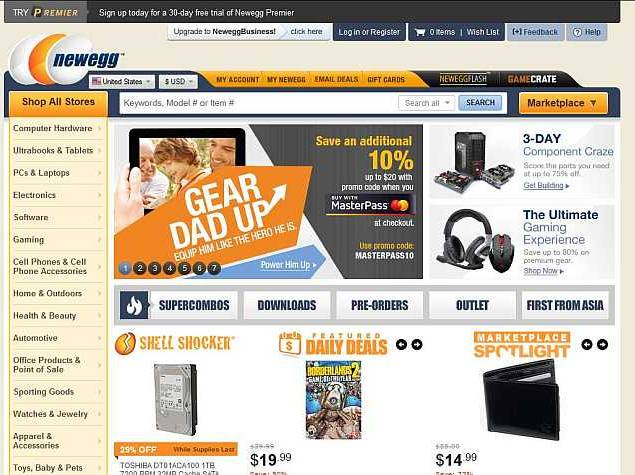 Online Hardware Retailer Newegg Announces Plans to Launch in India