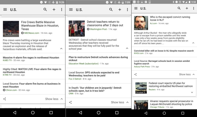 Google News Now Shines Spotlight on Local Coverage