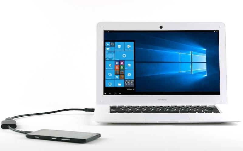 NexDock Claims to Turn Windows 10 Mobile Smartphones, Mini-PCs Into Laptops