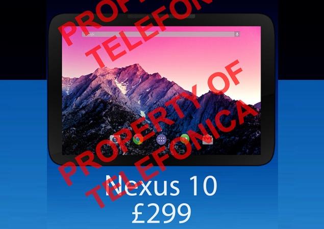 LG Nexus 10 tablet images, price leaked