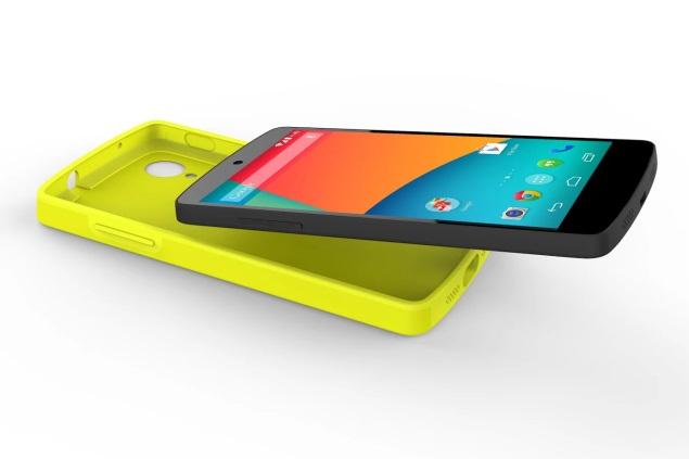 Google unveils Nexus 5 Bumper Case, LG QuickCover and Nexus 7 Sleeve for India