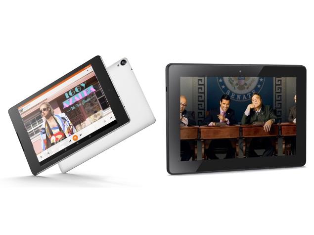 Google Nexus 9 vs. Amazon Fire HDX 8.9