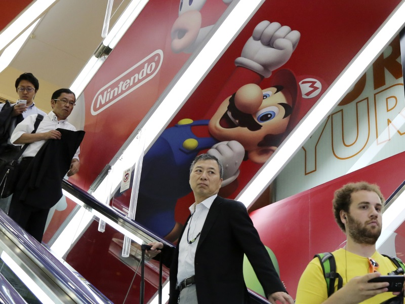 Nintendo's Quarterly Profit Slips on Lacklustre Video Game Sales