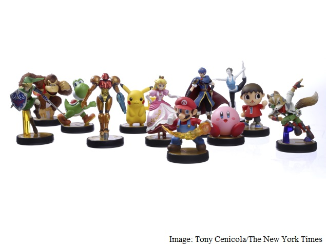 To Energize Sales, Nintendo Introduces Toys That Roam Virtual Realm