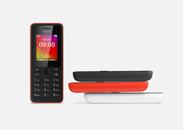 Nokia 106 feature phone launched in India at Rs. 1,399