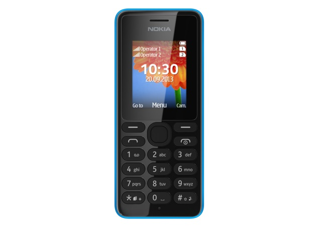 Nokia 108 and Nokia 108 Dual-SIM budget phones unveiled, listed on India site