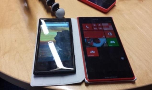 Nokia Lumia 1520 compared alongside Lumia 1020 in new leaked image