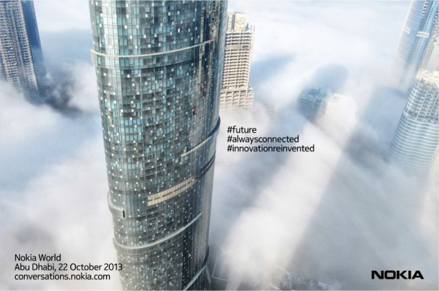 Nokia posts teasers for October 22 event again, Lumia 1520 still expected