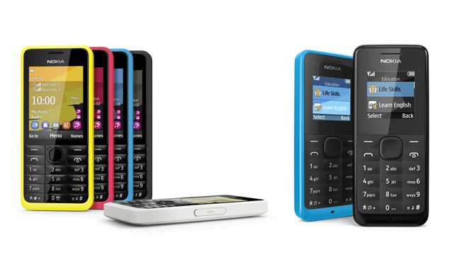 Nokia 301 and Nokia 105 budget phones announced at MWC