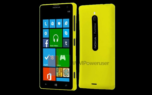 Purported image of Nokia Lumia 729 with PureView leaked