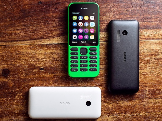 Microsoft Launches Internet-Ready Nokia 215, Nokia 215 Dual SIM Handsets