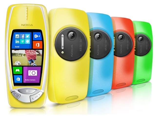Nokia 3310 given 41-megapixel camera upgrade on April Fools' Day