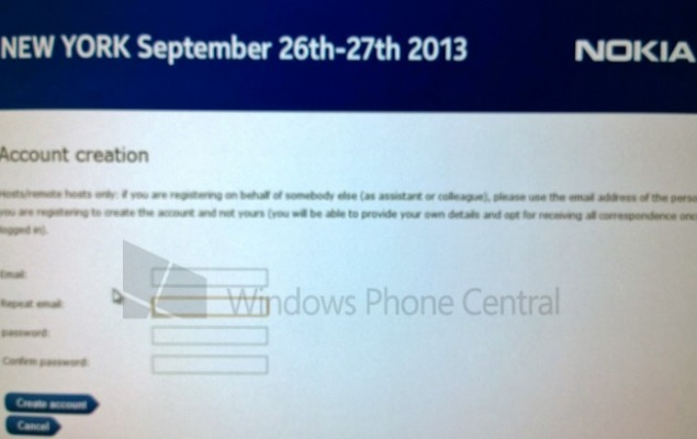 Nokia schedules event for September 26-27, could announce Windows tablet: Report