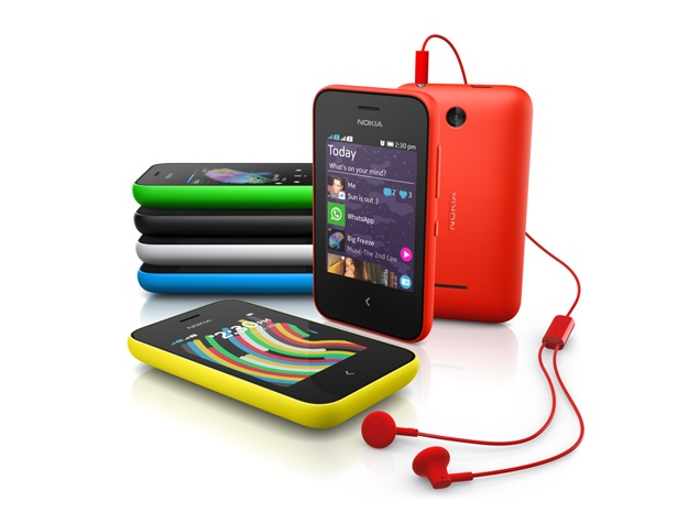 Nokia 220 and Asha 230 feature phones unveiled at MWC 2014