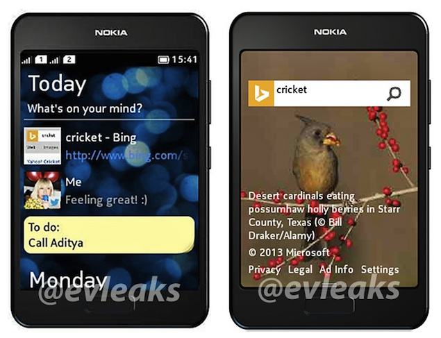 Dual-SIM Nokia phone leaked in images, may just be Asha 504