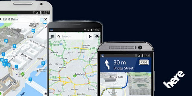 Nokia Here Maps (Beta) Now Available for Android 4.1 and ...