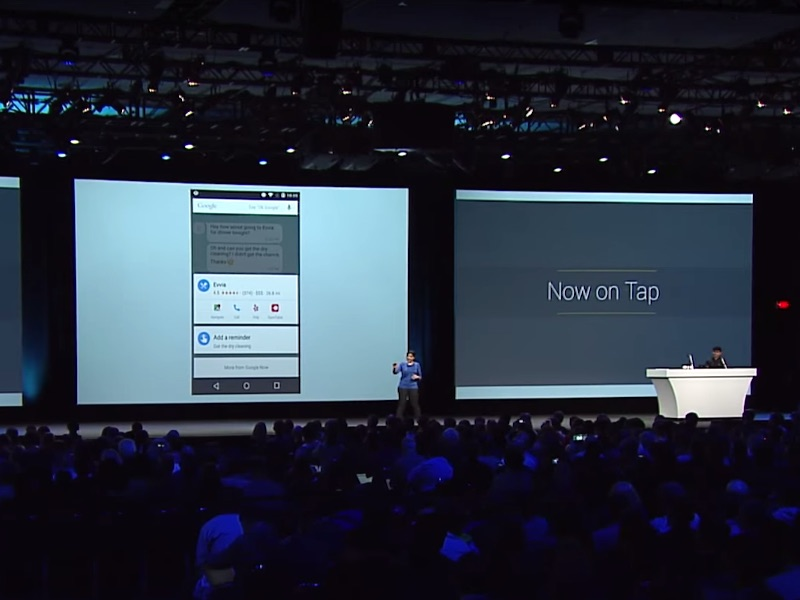 Hands on With Now on Tap: Android 6.0's Best Feature Has Apps Dancing to Its Tunes