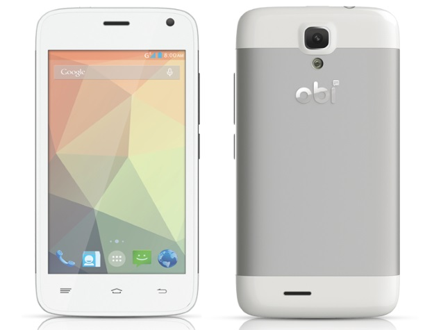 Obi Racoon S401 With 4-Inch Display, Android 4.4.2 KitKat Listed on Company Site