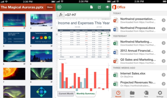 Microsoft Office comes to iPhone for Office 365 subscribers, Android's wait continues