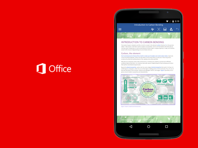 Whatsapp and ms office updates exploding kittens 2 0 and more apps this week ndtv - Office apps for android free ...