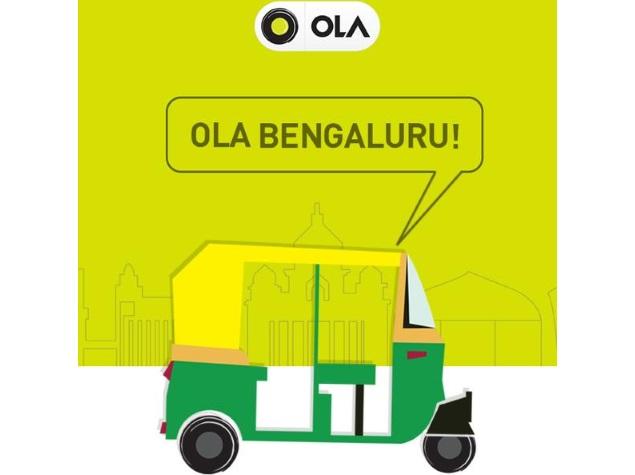 Now Book Auto Rickshaws in Bangalore via Ola Cabs