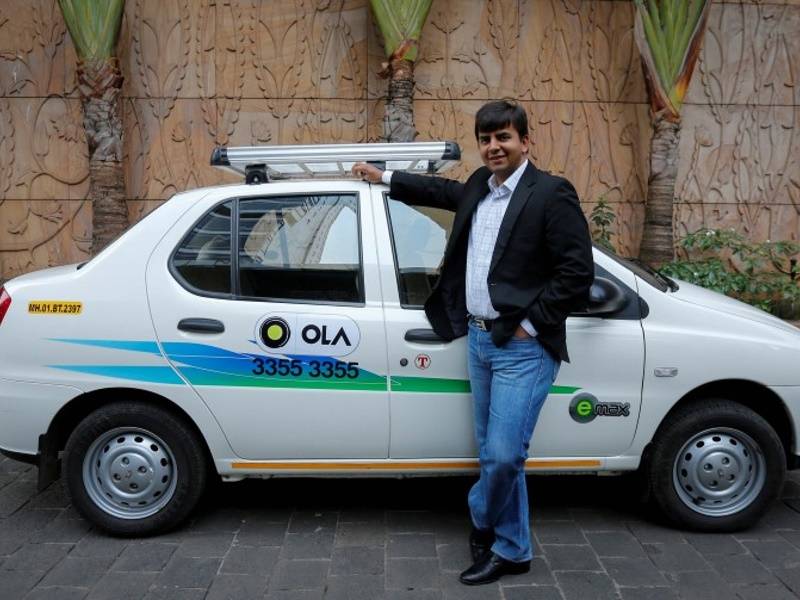 Ola Sideswiped as Uber, Didi Team Up in China