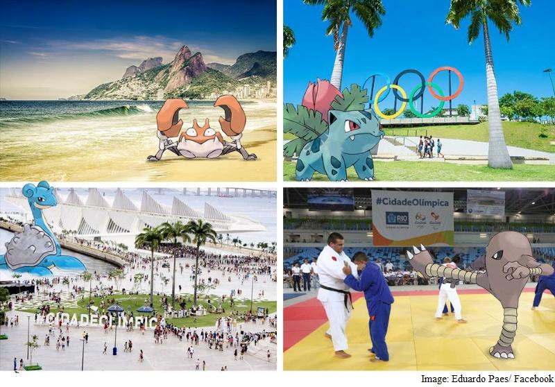 Pokemon Go Welcome at Rio Olympics, Mayor Says